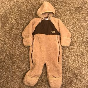 North Face Infant Plushee Fleece Bunting